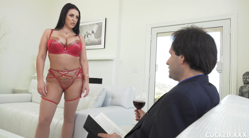 Cucked Angela White Loves A Photographer That Will Do Anything For Her